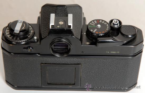 Cámara de fotos: NIKON FE - AUTOMATICA Y MANUAL - Foto 2 - 27601068