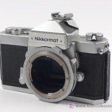 Cámara de fotos: CÁMARA NIKKORMAT FT Y FUNCIONAMIENTO.. Lote 27022044