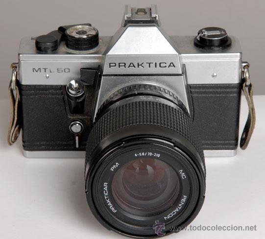 PRAKTICA MTL 50 + ZOOM 70-210MM (Cámaras Fotográficas - Réflex (no autofoco))
