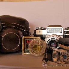 Cámara de fotos: ZEISS IKON CONTAFLEX SUPER B / FUNCIONANDO / EN EXCELENTE ESTADO. Lote 27181302