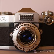 Cámara de fotos: ZEISS IKON CONTAFLEX SUPER / FUNCIONANDO / EN EXCELENTE ESTADO. Lote 27208268
