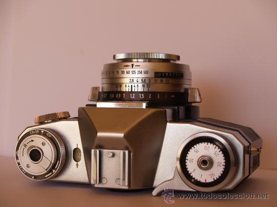 Cámara de fotos: ZEISS IKON CONTAFLEX SUPER / FUNCIONANDO / EN EXCELENTE ESTADO - Foto 2 - 27208268