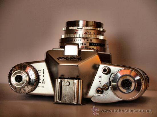 Cámara de fotos: VOIGTLANDER BESSAMATIC DE LUXE + SUPER DYNAREX 1:4/135 - FUNCIONANDO Y EN EXCELENTE ESTADO-PRECIOSA - Foto 2 - 27501118