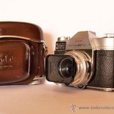 Cámara de fotos: KODAK RETINA REFLEX S + FUNDA / FUNCIONANDO Y EN EXCELENTE ESTADO. Lote 27433535