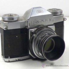 Cámara de fotos: CONTAFLEX ZEISS IKON, OBJETIVO 45MM F: 2,8. CON PARASOL,. Lote 24145154