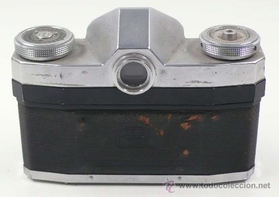 Cámara de fotos: CONTAFLEX ZEISS IKON, OBJETIVO 45mm f: 2,8. Con parasol, - Foto 5 - 24145154