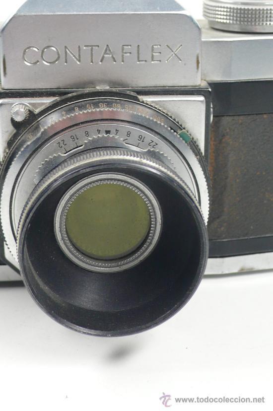 Cámara de fotos: CONTAFLEX ZEISS IKON, OBJETIVO 45mm f: 2,8. Con parasol, - Foto 4 - 24145154