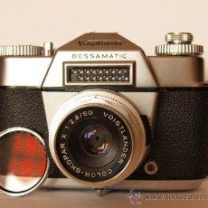 Cámara de fotos: VOIGTLANDER BESSAMATIC + OBJETIVO SKOPAR X 2.8/50MM / EXCELENTE ESTADO. Lote 27297795