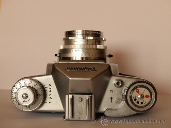 Cámara de fotos: VOIGTLANDER BESSAMATIC + OBJETIVO SKOPAR X 2.8/50mm / EXCELENTE ESTADO - Foto 2 - 27297795