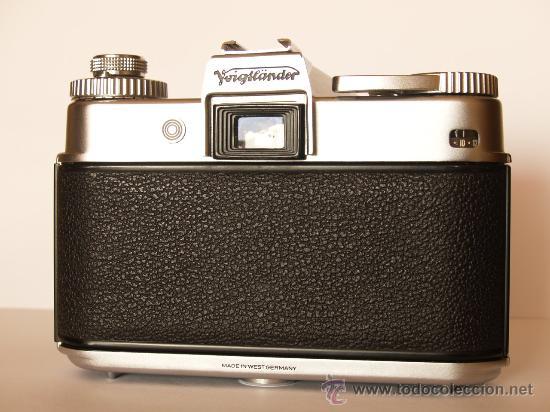 Cámara de fotos: VOIGTLANDER BESSAMATIC + OBJETIVO SKOPAR X 2.8/50mm / EXCELENTE ESTADO - Foto 4 - 27297795