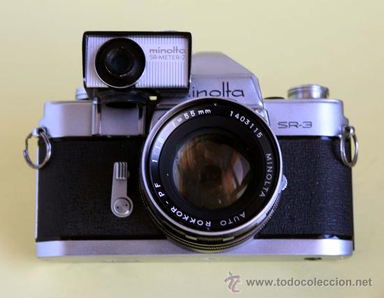 Cámara de fotos: Minolta SR-3 con fotometro - Foto 3 - 25852716