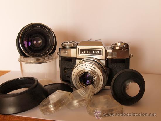 Cámara de fotos: ZEISS IKON CONTAFLEX SUPER BC + FUNDA + PRO-TESSAR 35mm 3.2 + GUIA / EXCELENTE ESTADO Y FUNCIONANDO - Foto 2 - 27107242
