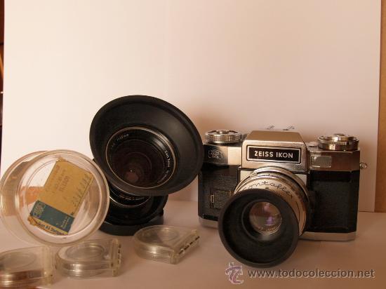 Cámara de fotos: ZEISS IKON CONTAFLEX SUPER BC + FUNDA + PRO-TESSAR 35mm 3.2 + GUIA / EXCELENTE ESTADO Y FUNCIONANDO - Foto 3 - 27107242