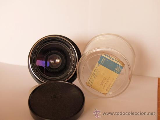 Cámara de fotos: ZEISS IKON CONTAFLEX SUPER BC + FUNDA + PRO-TESSAR 35mm 3.2 + GUIA / EXCELENTE ESTADO Y FUNCIONANDO - Foto 4 - 27107242