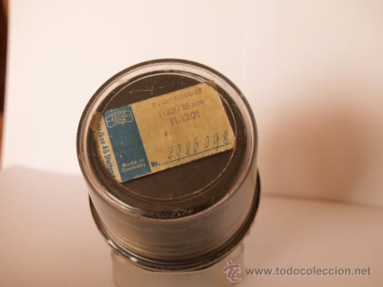 Cámara de fotos: ZEISS IKON CONTAFLEX SUPER BC + FUNDA + PRO-TESSAR 35mm 3.2 + GUIA / EXCELENTE ESTADO Y FUNCIONANDO - Foto 7 - 27107242