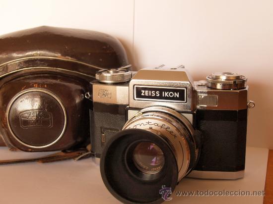 Cámara de fotos: ZEISS IKON CONTAFLEX SUPER BC + FUNDA + PRO-TESSAR 35mm 3.2 + GUIA / EXCELENTE ESTADO Y FUNCIONANDO - Foto 8 - 27107242