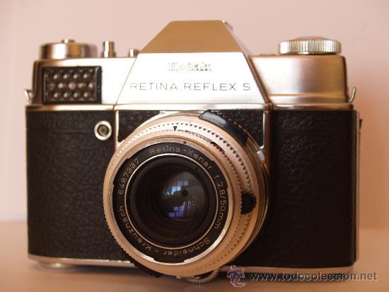 Cámara de fotos: KODAK RETINA REFLEX S + FUNDA + OBJETIVO 50mm / 2.8 + FILTROS / FUNCIONANDO Y EN EXCELENTE ESTADO - Foto 3 - 27107707