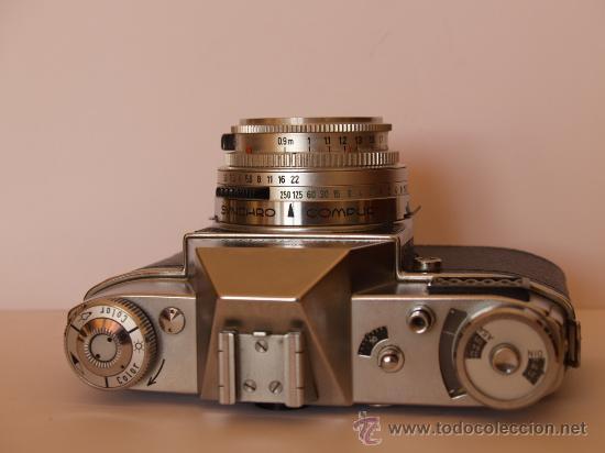 Cámara de fotos: KODAK RETINA REFLEX S + FUNDA + OBJETIVO 50mm / 2.8 + FILTROS / FUNCIONANDO Y EN EXCELENTE ESTADO - Foto 4 - 27107707