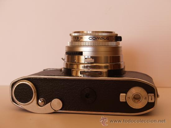Cámara de fotos: KODAK RETINA REFLEX S + FUNDA + OBJETIVO 50mm / 2.8 + FILTROS / FUNCIONANDO Y EN EXCELENTE ESTADO - Foto 5 - 27107707