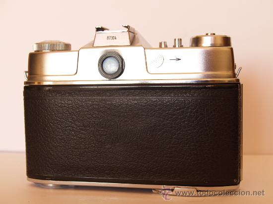 Cámara de fotos: KODAK RETINA REFLEX S + FUNDA + OBJETIVO 50mm / 2.8 + FILTROS / FUNCIONANDO Y EN EXCELENTE ESTADO - Foto 6 - 27107707