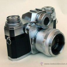 Cámara de fotos - SLR Zeiss Ikon Contarex Bullseye, ojo de buey, Planar 50mm f / 2 - 27125521