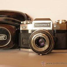 Cámara de fotos: ZEISS IKON CONTAFLEX S + FUNDA / FUNCIONANDO Y EN EXCELENTE ESTADO. Lote 27158662