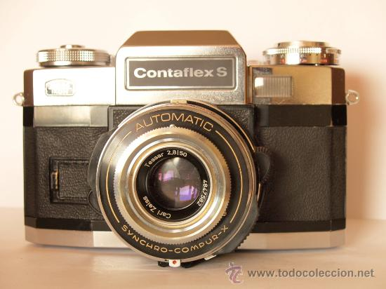 Cámara de fotos: ZEISS IKON CONTAFLEX S + FUNDA / FUNCIONANDO Y EN EXCELENTE ESTADO - Foto 2 - 27158662