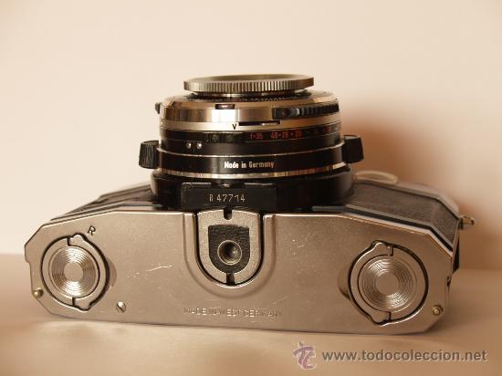 Cámara de fotos: ZEISS IKON CONTAFLEX S + FUNDA / FUNCIONANDO Y EN EXCELENTE ESTADO - Foto 5 - 27158662