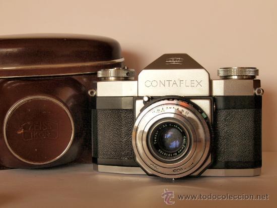 ZEISS IKON CONTAFLEX I + FUNDA + GUIA / EXCELENTE ESTADO Y FUNCIONANDO (Cámaras Fotográficas - Réflex (no autofoco))
