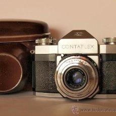 Cámara de fotos: ZEISS IKON CONTAFLEX I + FUNDA + GUIA / EXCELENTE ESTADO Y FUNCIONANDO. Lote 27158872