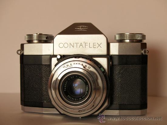 Cámara de fotos: ZEISS IKON CONTAFLEX I + FUNDA + GUIA / EXCELENTE ESTADO Y FUNCIONANDO - Foto 2 - 27158872