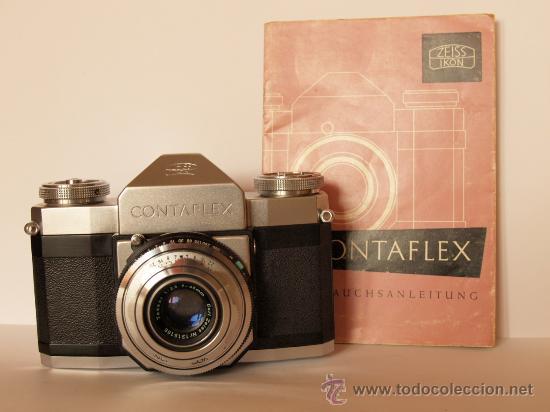 Cámara de fotos: ZEISS IKON CONTAFLEX I + FUNDA + GUIA / EXCELENTE ESTADO Y FUNCIONANDO - Foto 3 - 27158872