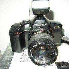 Cámara de fotos: CAMARA YASHICA 109, CON MOTOR. OBJETIVO 33-70 MULTI PROGRAM. MUY COMPLETAMM. Lote 27762521