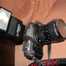 Cámara de fotos: CAMARA PENTAS P30 ZOO 28-80 MM, PROTECTOR COKIN. FLAX AF 260. Lote 28949846