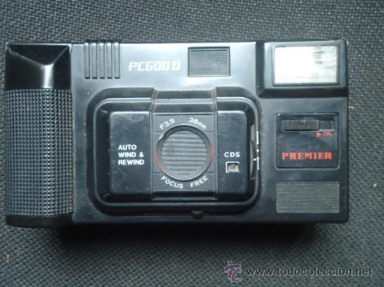 ANTIGUA CAMARA DE FOTOS MARCA PREMIER PC 600D IDEAL COLECCIONISTAS (Cámaras Fotográficas - Réflex (no autofoco))