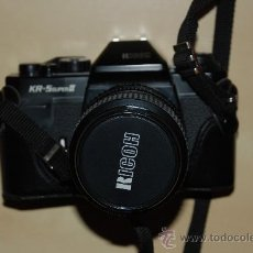 Cámara de fotos - Camara de fotos Ricoh KR-5 Super II,con objetivo 35-70 mm con funda e instrucciones - 29375566