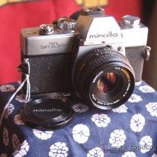 Cámara de fotos: MINOLTA SRT-200 + 45MM F:2. Lote 29635145