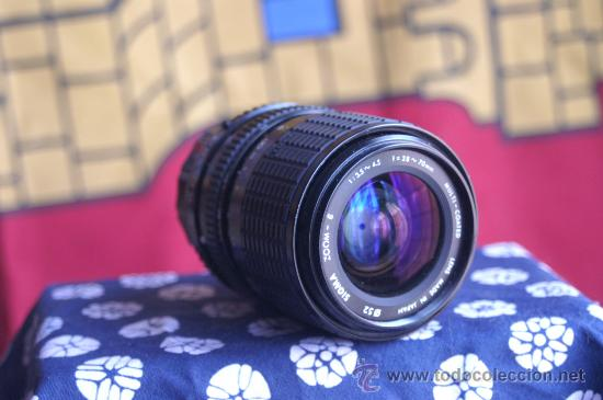 ZOOM SIGMA 28-70 F:3.5-4,5 (PK) (Cámaras Fotográficas - Réflex (no autofoco))