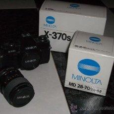 Cámara de fotos - Cámara Réflex Minolta X-370s + Objetivo 28-70 ( y con cajas originales) - 29977940