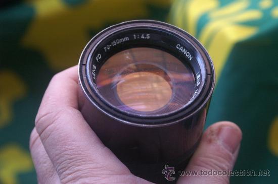 Cámara de fotos: Zoom Canon FD 70-150 F:4,5 - Foto 2 - 30265933