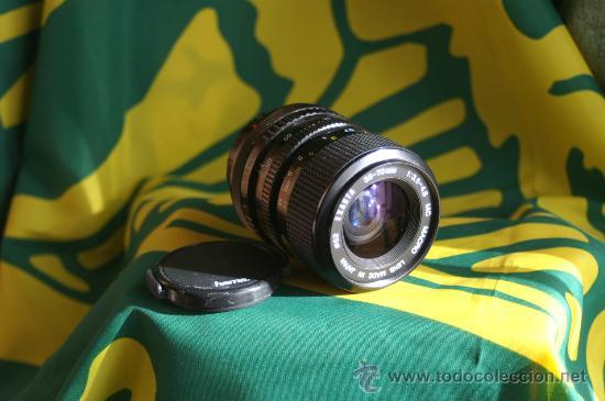 ZOOM EXAKTA 35-70 (F:3,5-4,8) (PARA CANON FD) (Cámaras Fotográficas - Réflex (no autofoco))