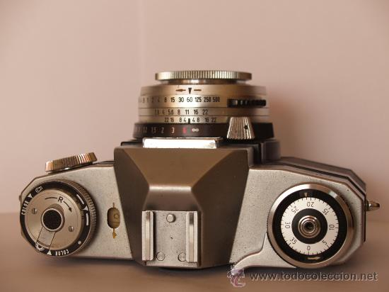 Cámara de fotos: .ZEISS IKON CONTAFLEX SUPER / FUNCIONANDO / - Foto 2 - 30450868