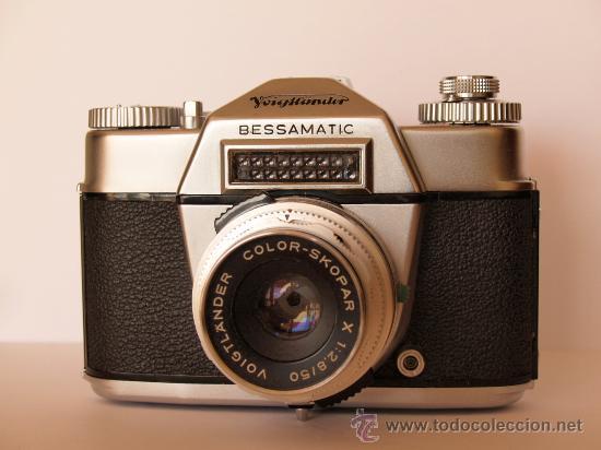 Cámara de fotos: .VOIGTLANDER BESSAMATIC CON OBJETIVO COLOR-SKOPAR X 1:2.8/50mm / FUNCIONANDO - Foto 2 - 30451421