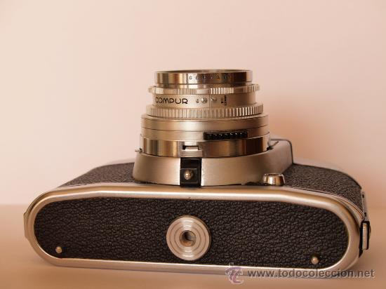 Cámara de fotos: .VOIGTLANDER BESSAMATIC CON OBJETIVO COLOR-SKOPAR X 1:2.8/50mm / FUNCIONANDO - Foto 3 - 30451421