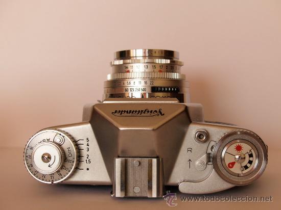 Cámara de fotos: .VOIGTLANDER BESSAMATIC CON OBJETIVO COLOR-SKOPAR X 1:2.8/50mm / FUNCIONANDO - Foto 4 - 30451421