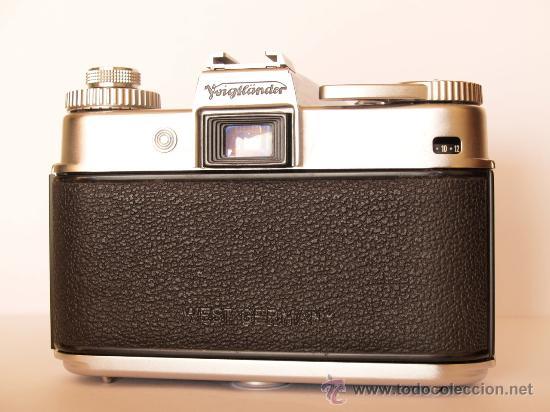 Cámara de fotos: .VOIGTLANDER BESSAMATIC CON OBJETIVO COLOR-SKOPAR X 1:2.8/50mm / FUNCIONANDO - Foto 5 - 30451421