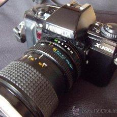Cámara de fotos: MINOLTA X-300-S OBJETIVO 28-70 MM MINOLTA +ELICAR 300MM.. Lote 30598991
