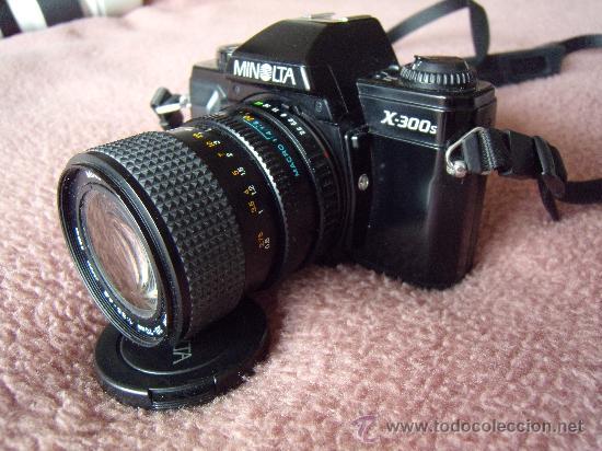 Cámara de fotos: Minolta X-300-s Objetivo 28-70 mm Minolta +Elicar 300mm. - Foto 3 - 30598991