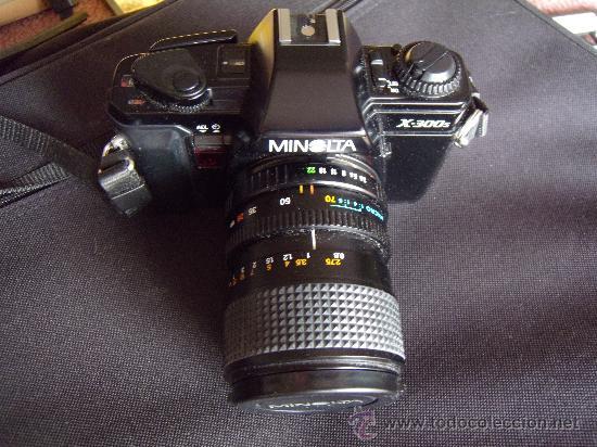 Cámara de fotos: Minolta X-300-s Objetivo 28-70 mm Minolta +Elicar 300mm. - Foto 2 - 30598991