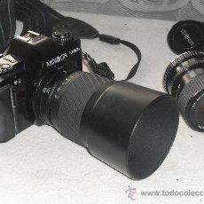 Cámara de fotos: CAMARA FOTOGRAFICA MINOLTA MODELO X-300S + OBJETIVO 28-70 MM + ZOMM SIGMA 70-210 MM +FUNDA -. Lote 30715575